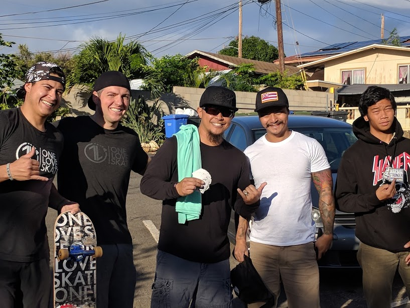 """Thankful we were able to crash at Pastor Alan's place in Waipahu again like when we came in 2013! Stoked we got to learn about forgiveness from Alan at Zippy's and hear a great """"pee story."""" :)"""