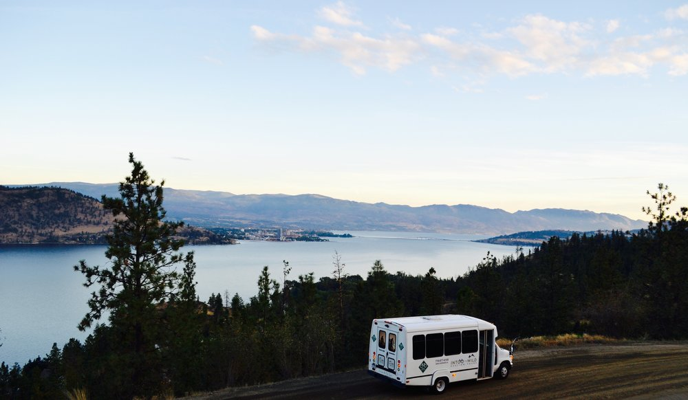 Our bus during one of our Multiday Bike tours in BC