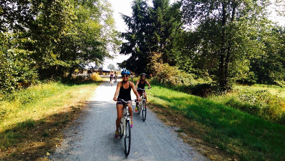 Join one of our bike tours in Pitt Meadows