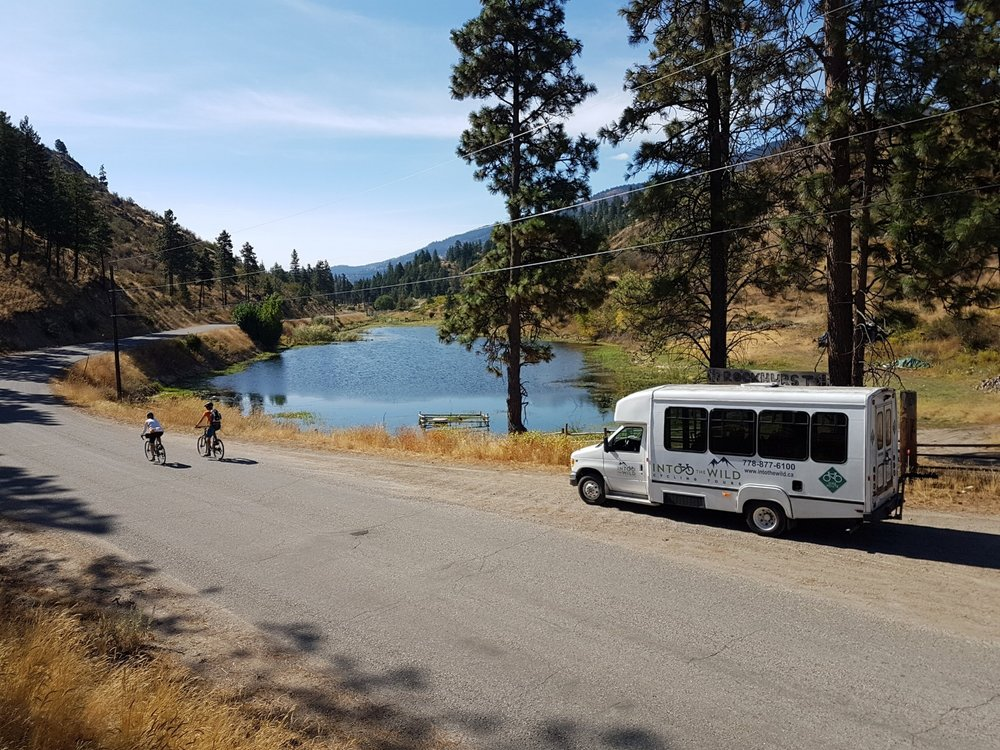 Bicycle touring in the Okanagan with Into The Wild Tours from Vancovuer
