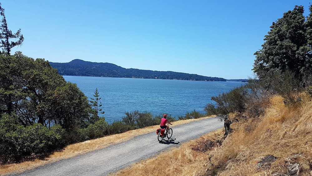 Self guided cycling tours in British Columbia