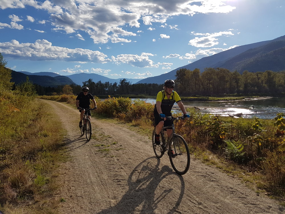 One of our favourite rides along the Slocan Valley Trail in the stunning Kooteneys