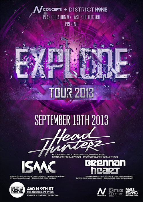 East Side Entertainment Explode Tour