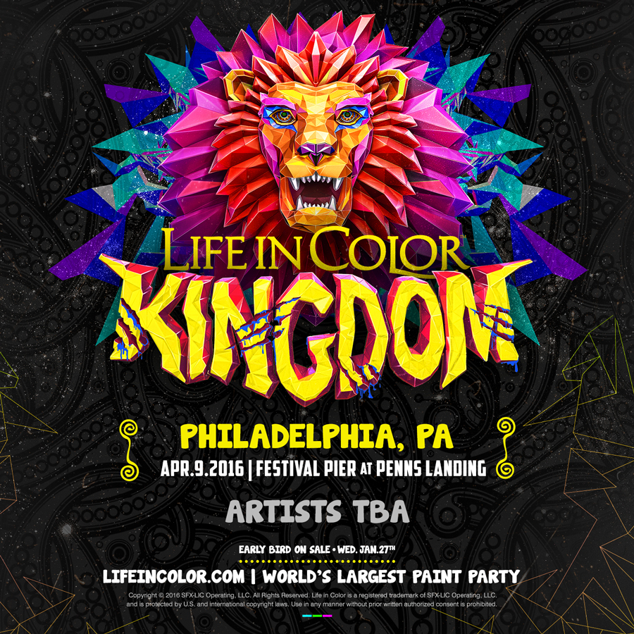 life in color philly