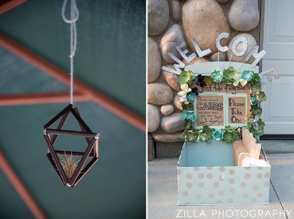 Homemade-Succulent-Wedding-Details