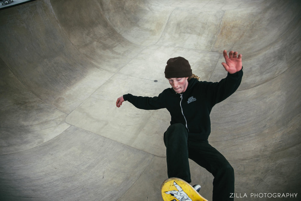 catching air while dedicating the new rhodes skate park