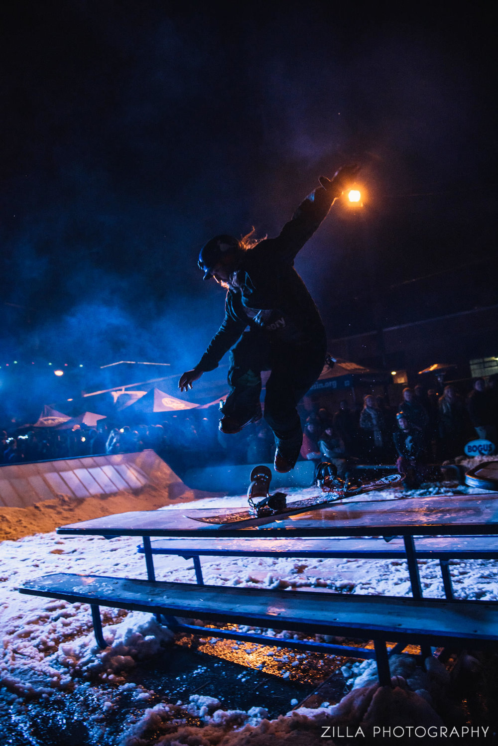 taking the jumps no footed at pray for snow boise party