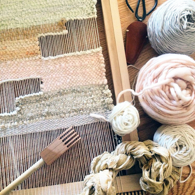 Weaving with Maryanne Moody