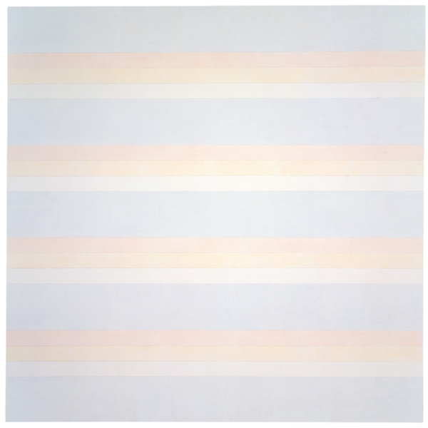 "Agnes Martin, ""Untitled #2"" (1992)"