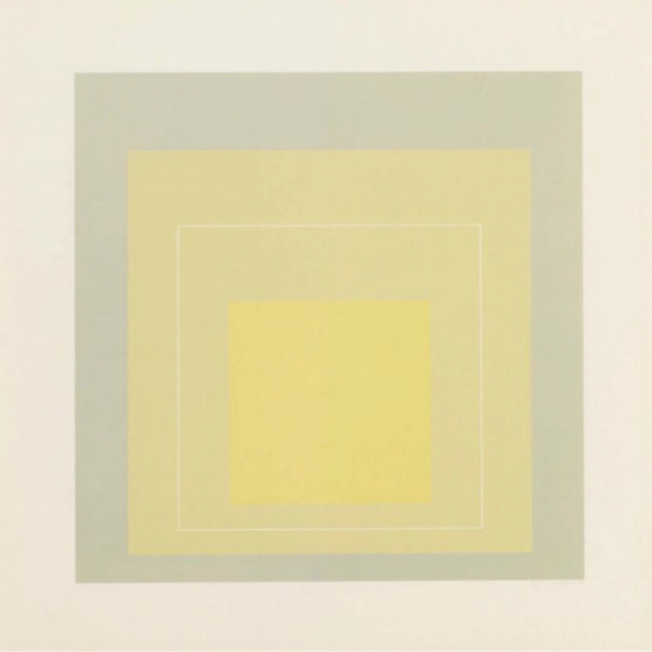 "Josef Albers, ""WLS VII"" (1966)"