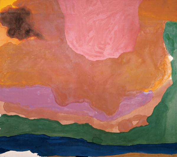 Helen Frankenthaler, Flood, 1967
