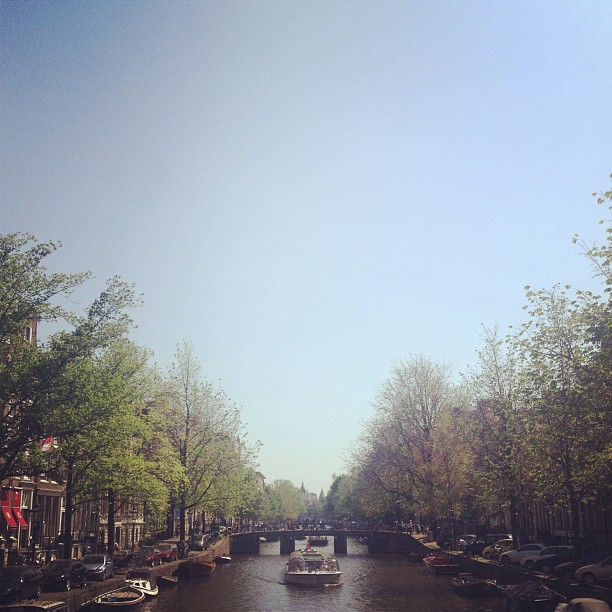 #amsterdam #canal #eurotrip #summer #travel