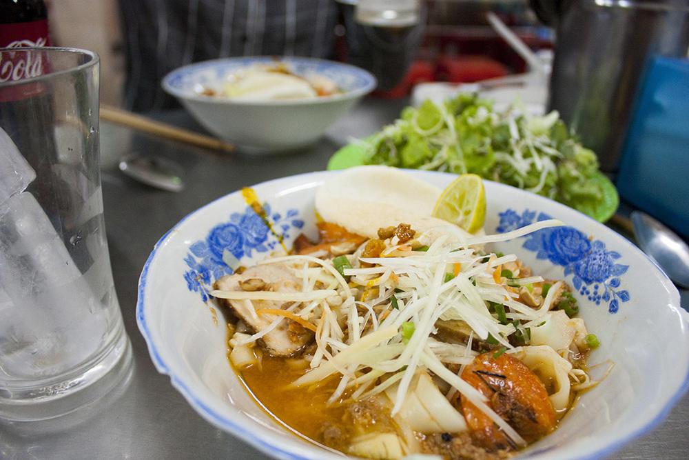 Quang noodle - a famous dish in Da Nang, V  iet Nam