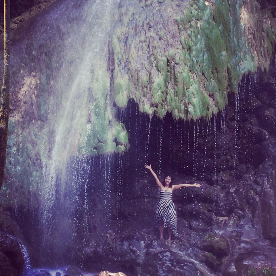 Waterfall in Cebu, Philippines