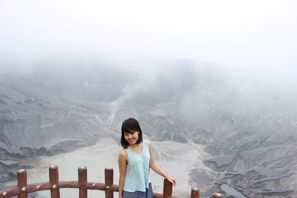 Exploring volcanoes in Bandung, Indonesia