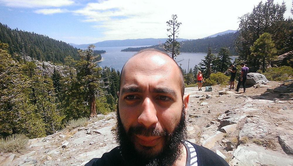 Moataz in Tahoe