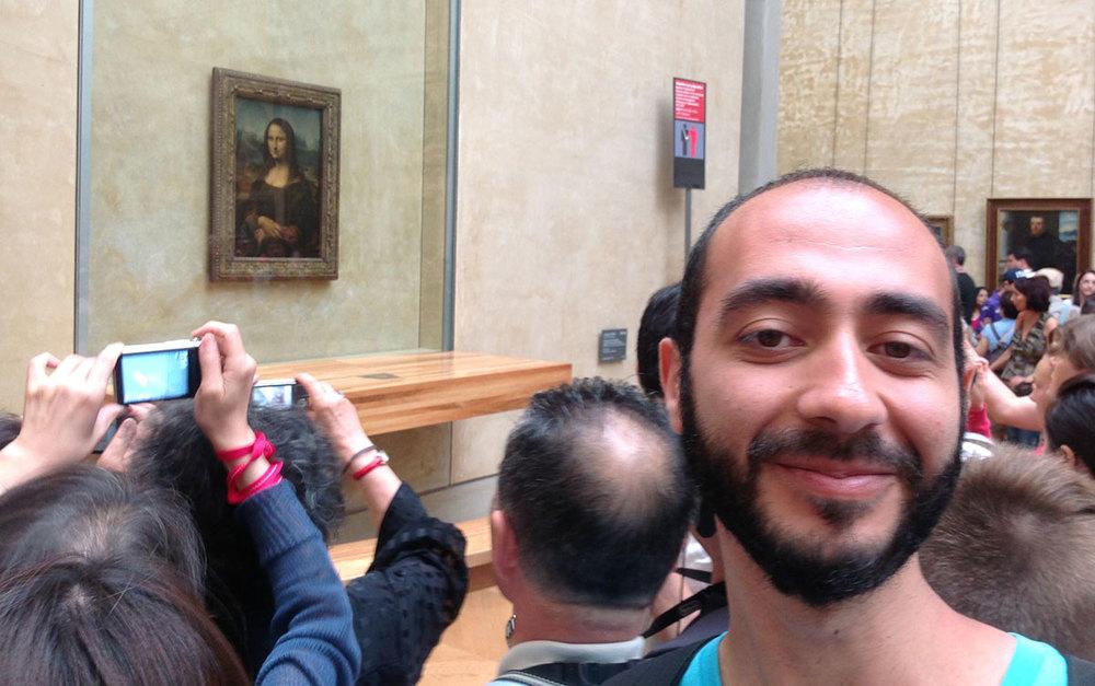 The Moataz & The Mona Lisa
