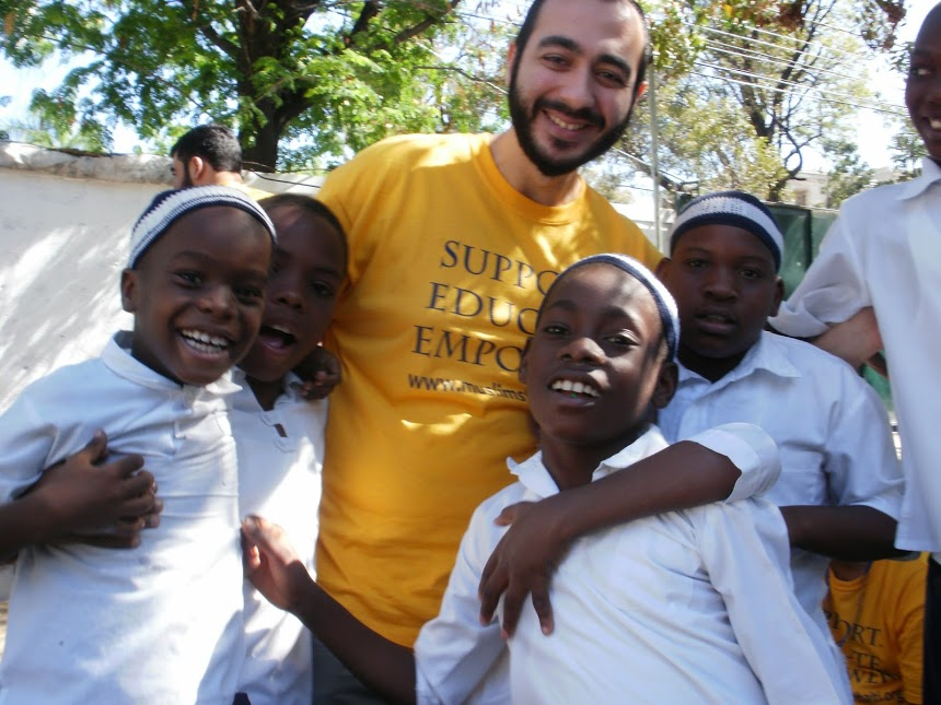 Hugging it out in Haiti