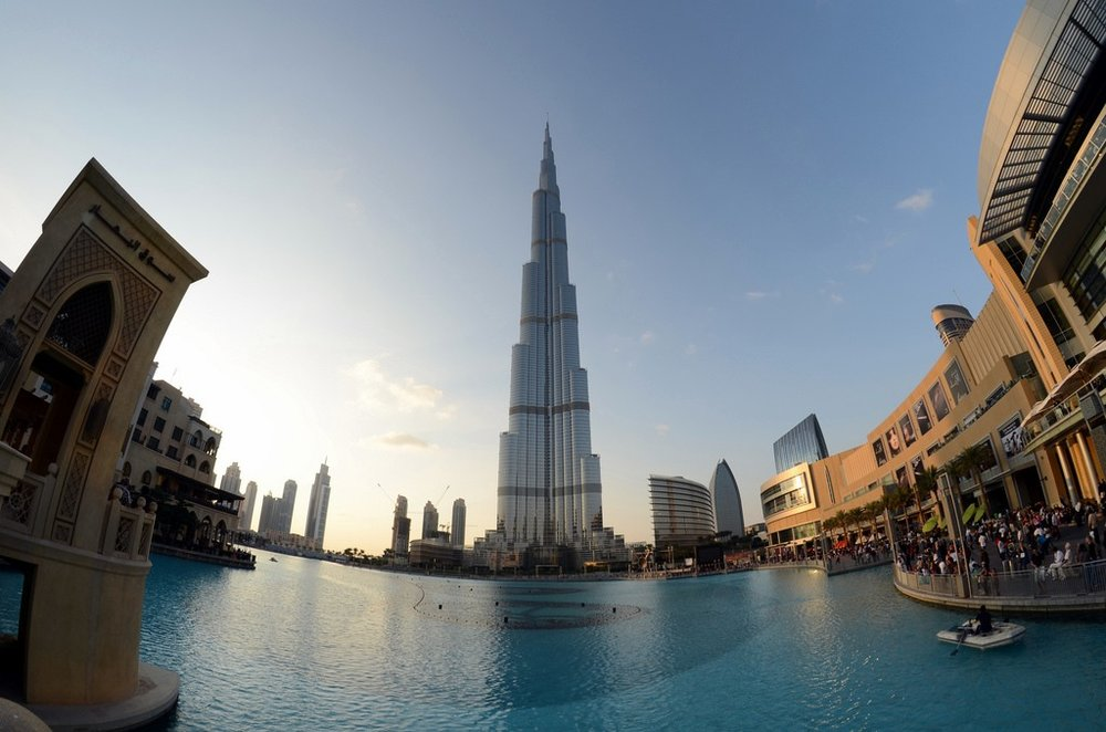 Burj Khalifa –  Photo  by  Armin Rodler ,  CC BY-NC 2.0