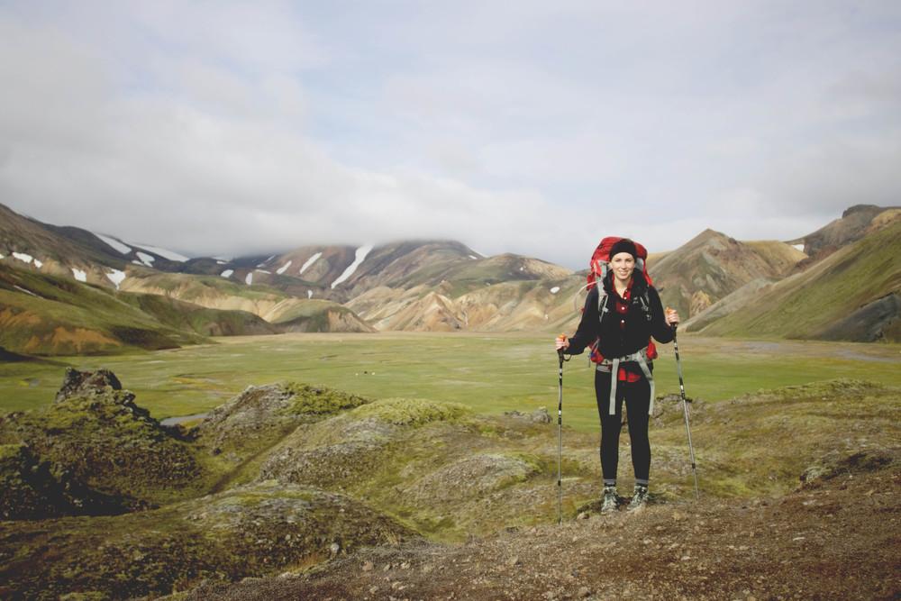 Trail from Landmannalaugar - Hrafntinnusker