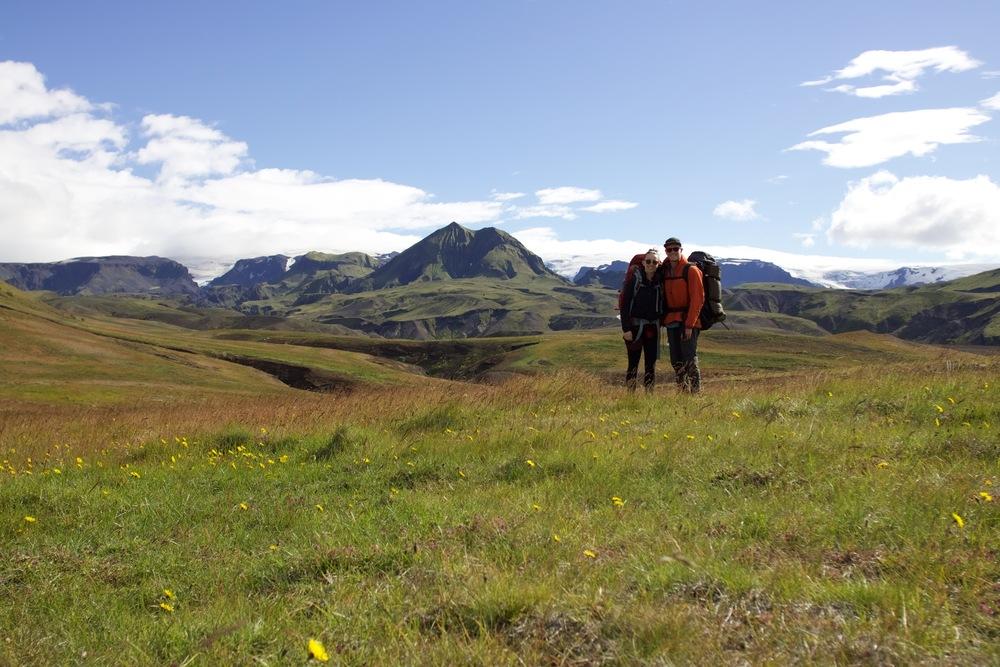 Trail from Emstrur (Botnar) - Þórsmörk