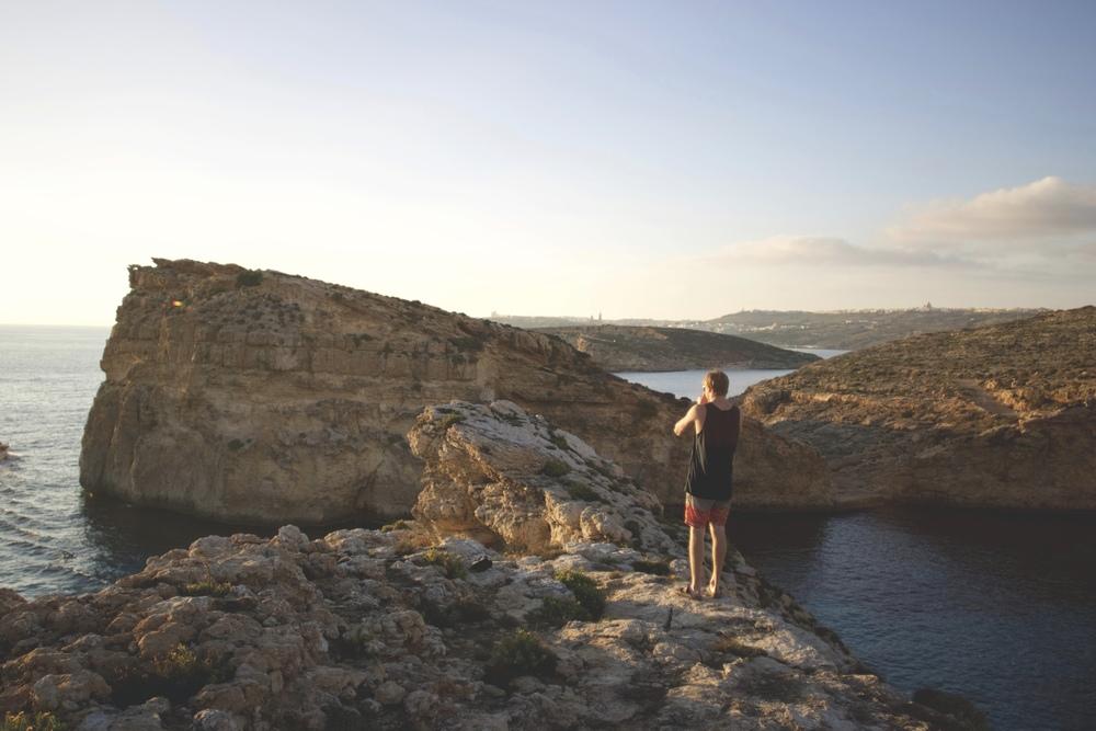 Comino Island Cliffs