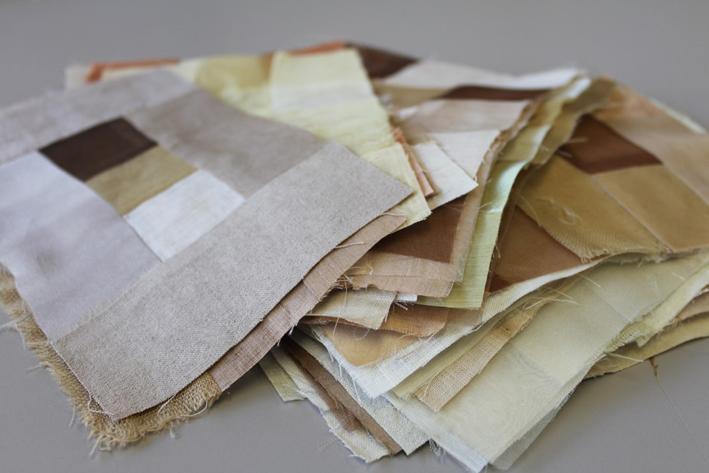 Plant dye samples