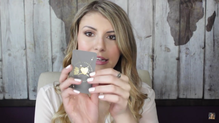 Popular YouTube Vlogger, Ashley Elizabeth, received a Creations by Kristel Hammered Heart Gold Filled Necklace. Watch the video here!
