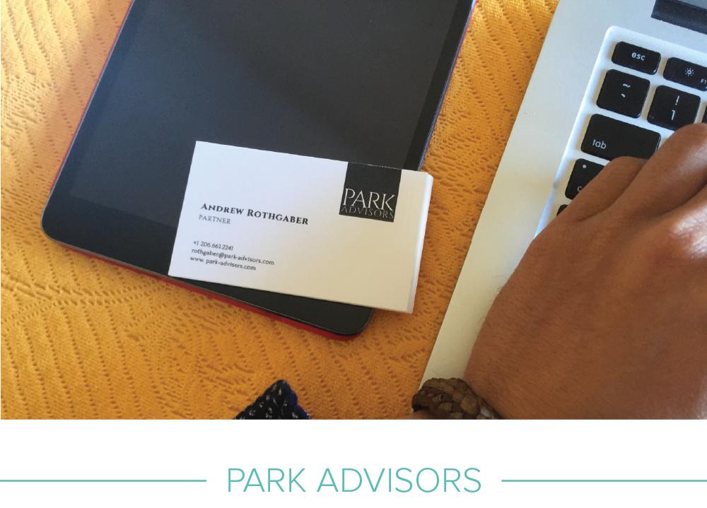 Print design: Park Advisors