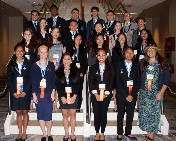 Our 2016 hawaii ISEF Delegation
