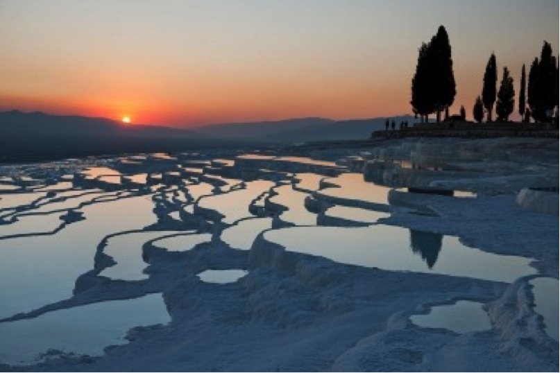 Photo by Steve McCurry, PAMUKKALE, Turkey