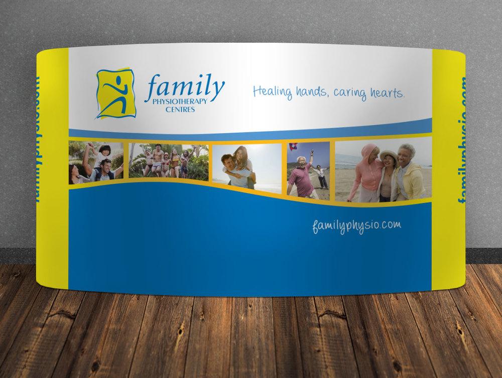 FamilyPhysio-largeboothdesign