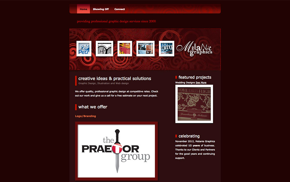 WEBSITE BASED ON HTML TEMPLATE 2009