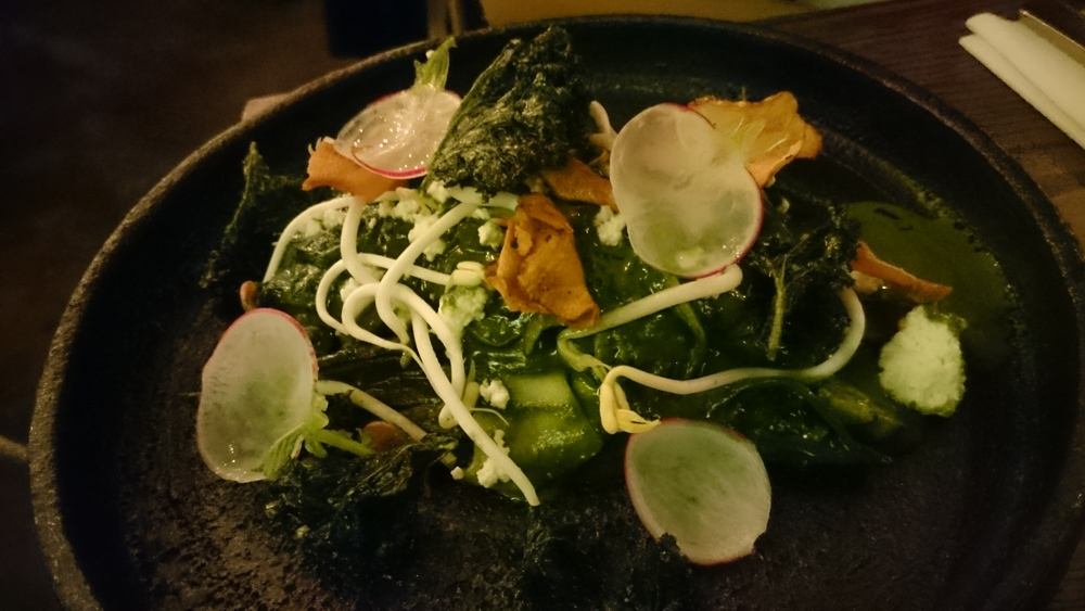 Vegetable curry at Cassia, Fort Street, Auckland.