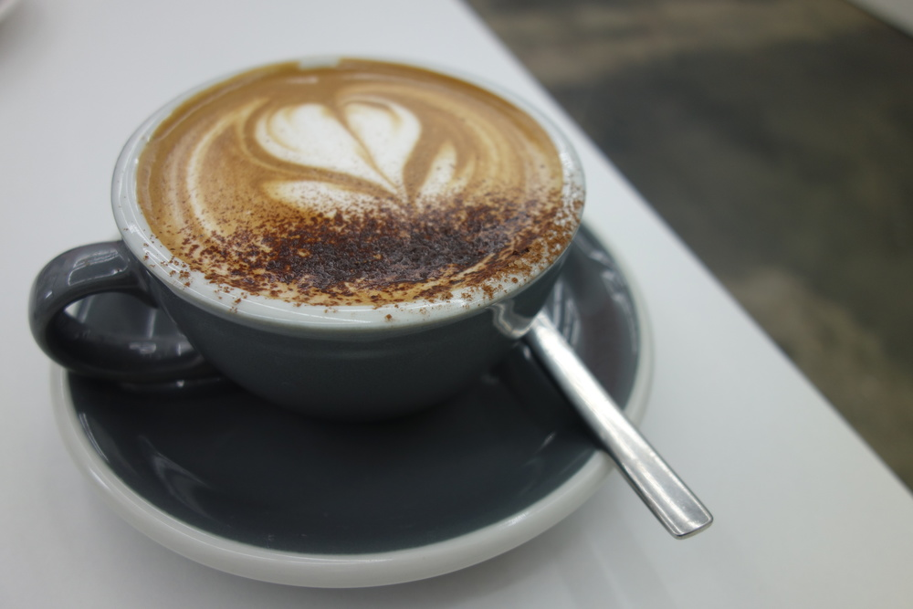 Frothy Mocha at EightThirty