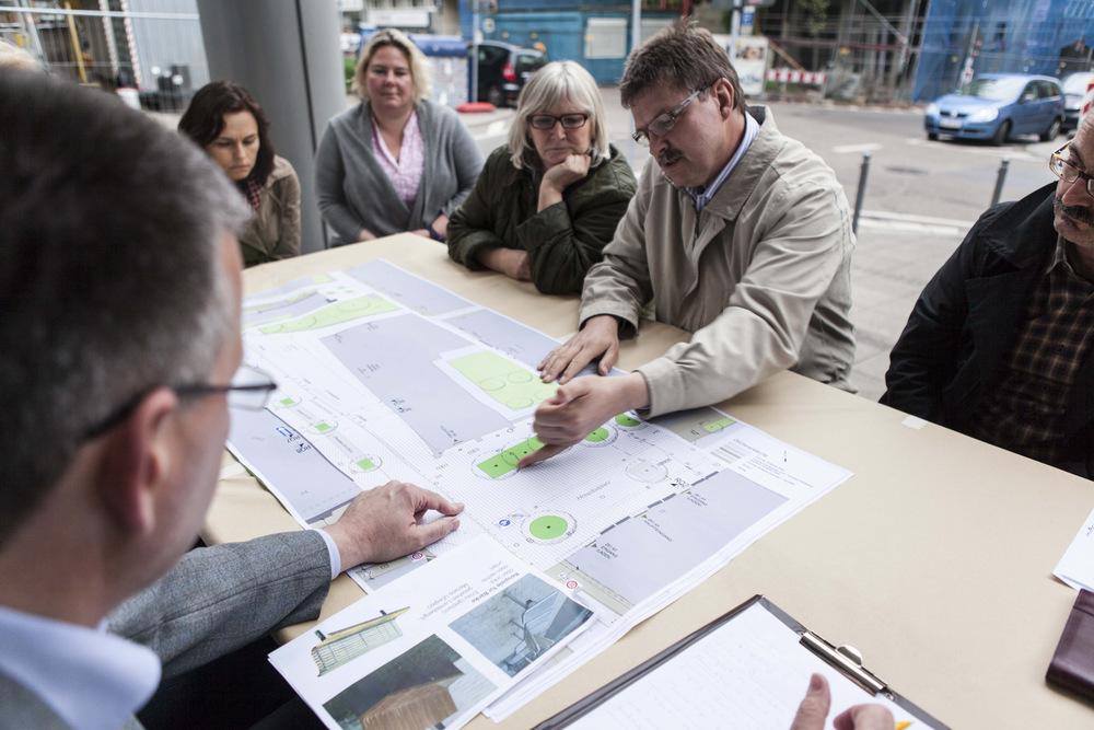 Bürgerbeteiligung im Hospitalviertel