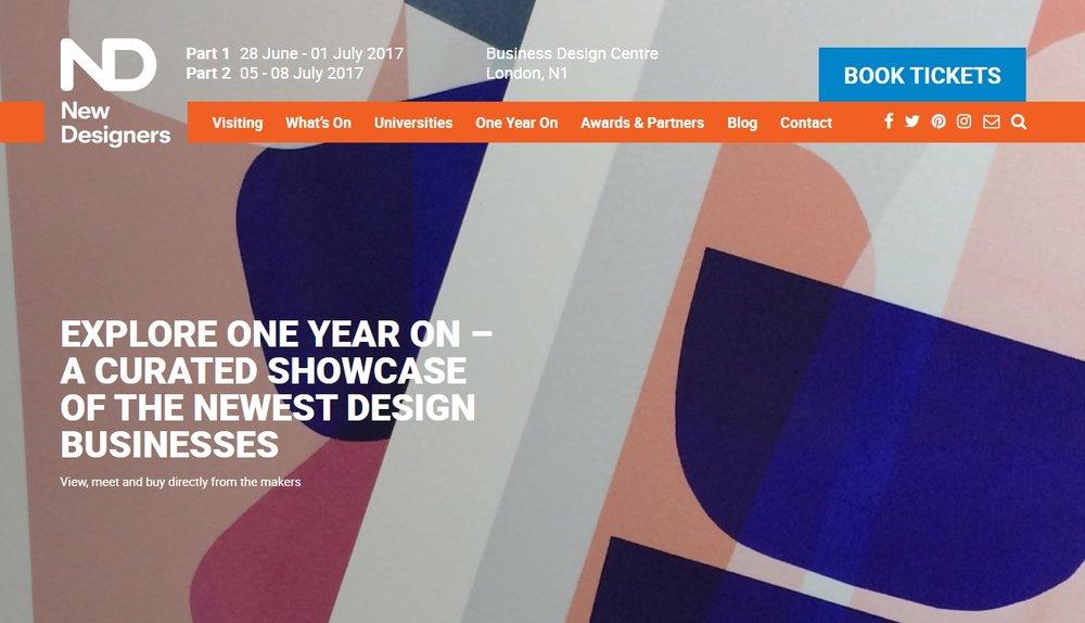 New Designers Banner
