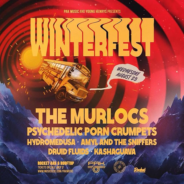 We are playing Adelaide Winterfest as the first stop on our next tour of Australia sharing the stage with the lads from @themurlocs tickets on sale July 3rd Yewwww