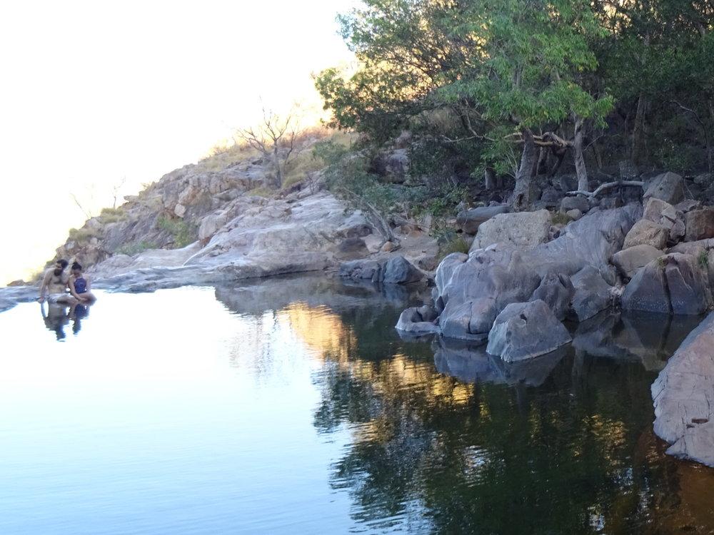 NT, Gunlom Falls