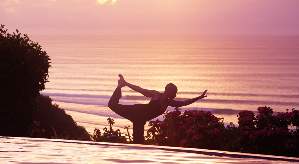 Sunset Yoga at Mu's Hotel