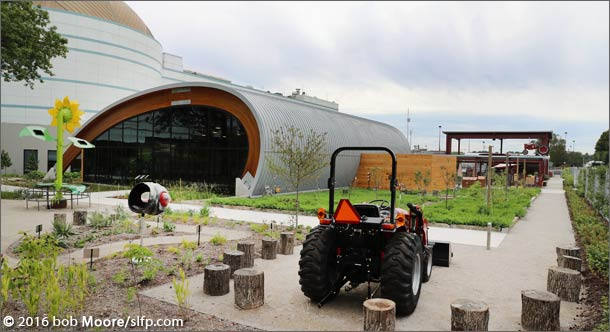 St. Louis Science Center Grow Exhibit