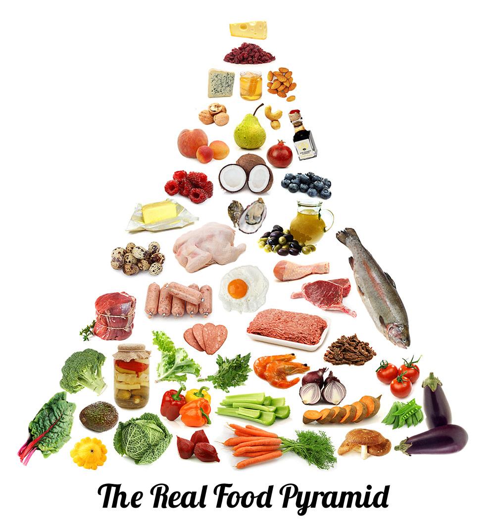 Nova pirâmede alimentar
