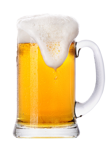 cerveja repleta de carboidrato