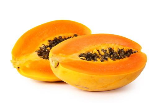 Mamão papaia, meia unidade: 11g da carboidratos