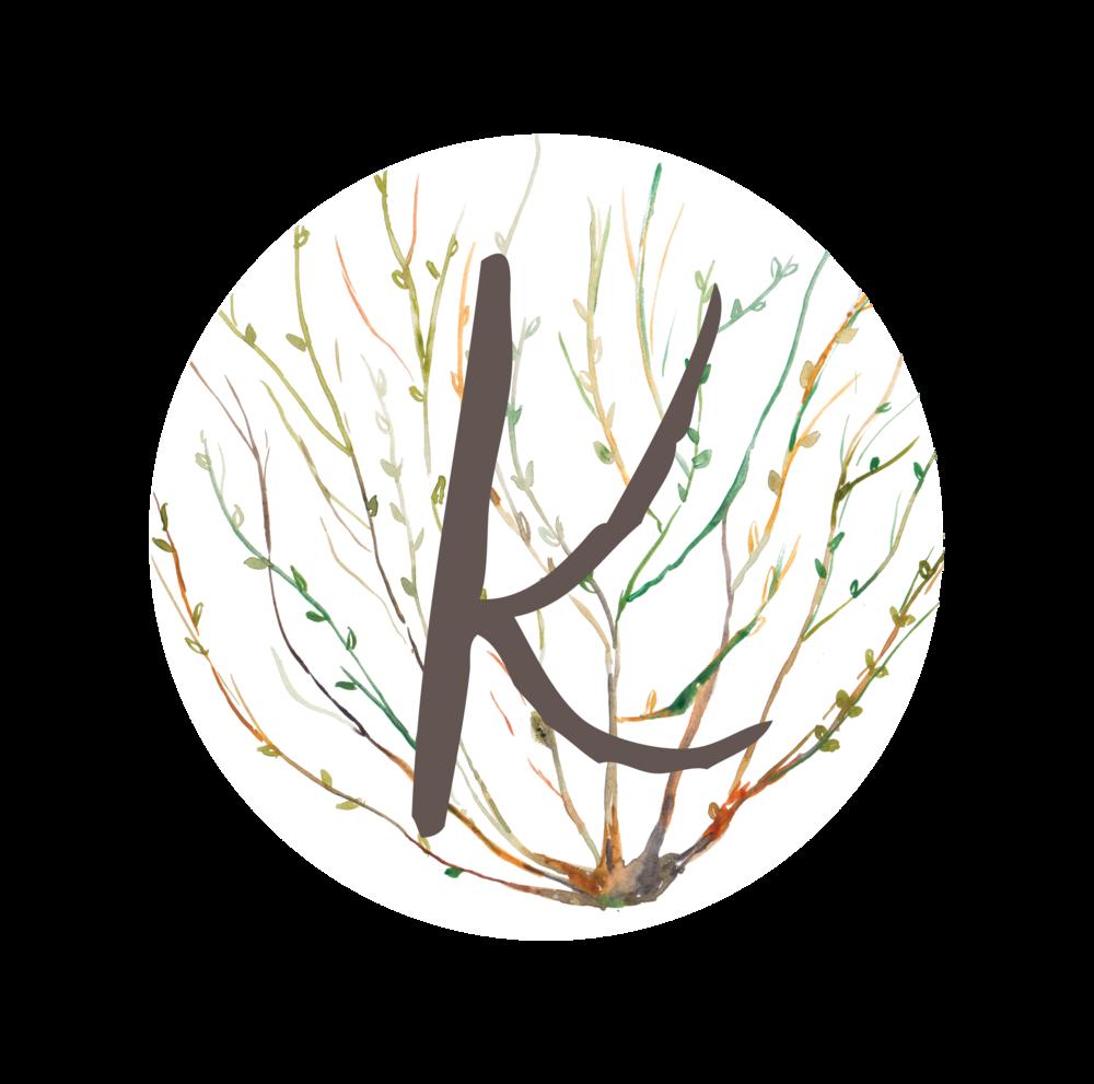 Kadou Monogram - Susan Brand Design