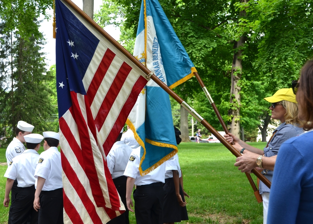 2015 Mem Par Flag holders.JPG