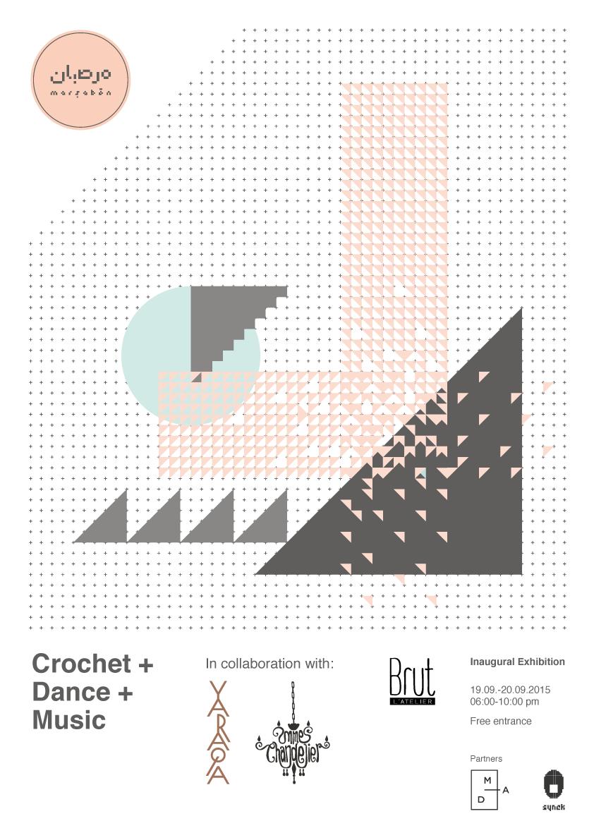 CROCHET + DANCE + MUSIC | WHEN DANCE MEETS TEXTILE | LIVE multiMEDIA presentation |    READ MORE >