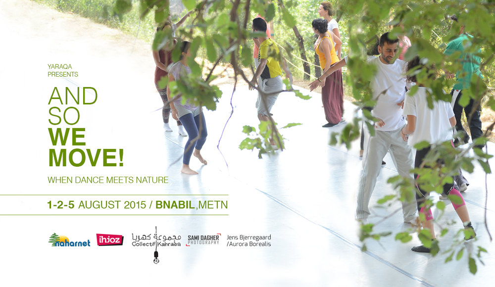 AND SO WE MOVE  | WHEN DANCE MEETS NATURE | workshops & interventions |    Read more >