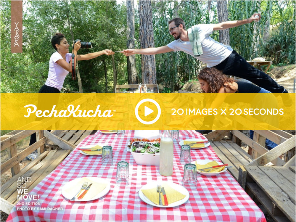 LISTEN TO US ON PECHA KUCHA AS WE SHARE WITH YOU AND SO WE MOVE! >   How does the body move in nature? How can natural landscapes inspire different moving experiences, ones that disconnect us from our daily routine and reconnect us to our bodies and the space around us?