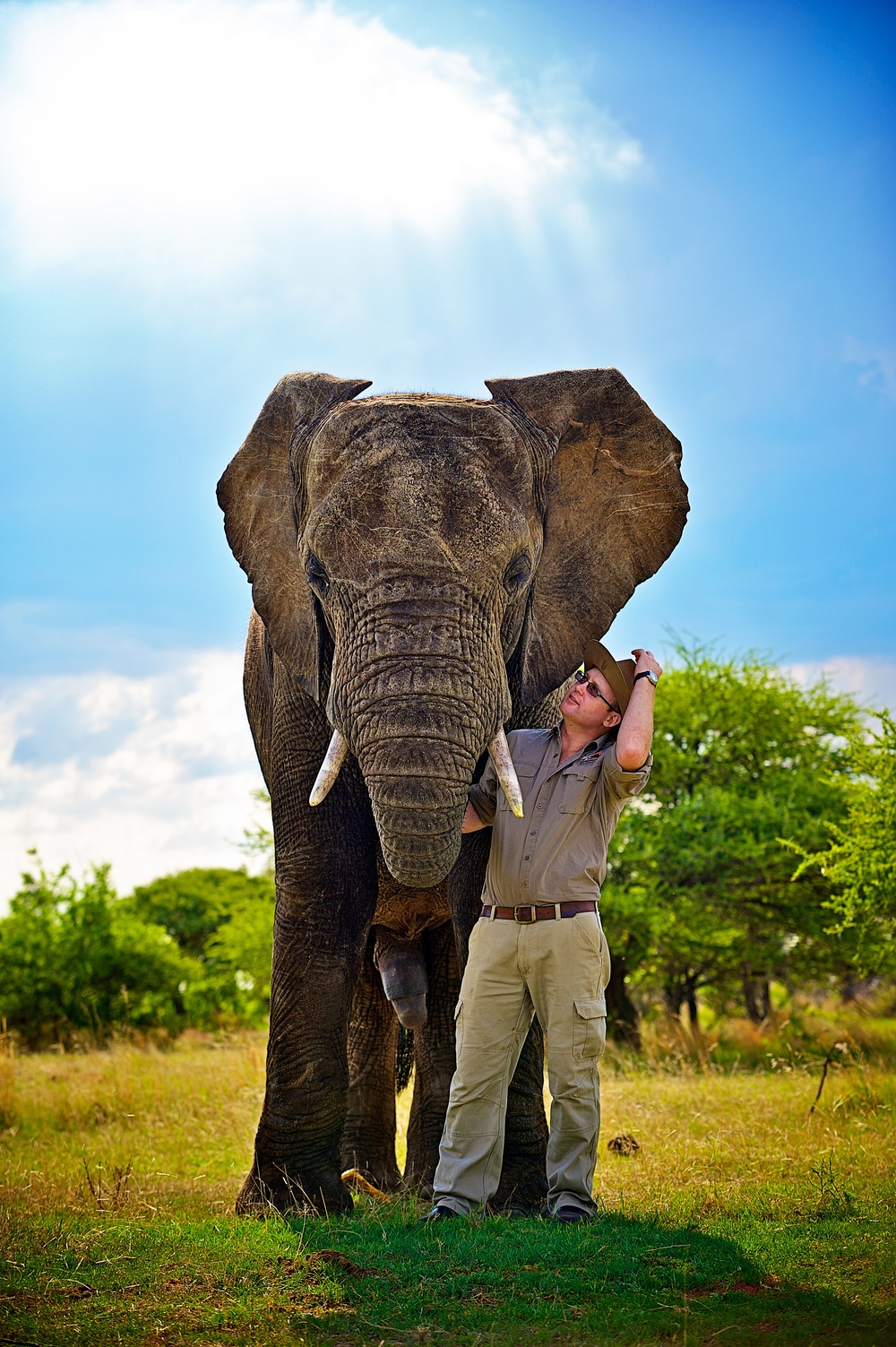 Sean Hensman, MD of Adventures with Elephants.